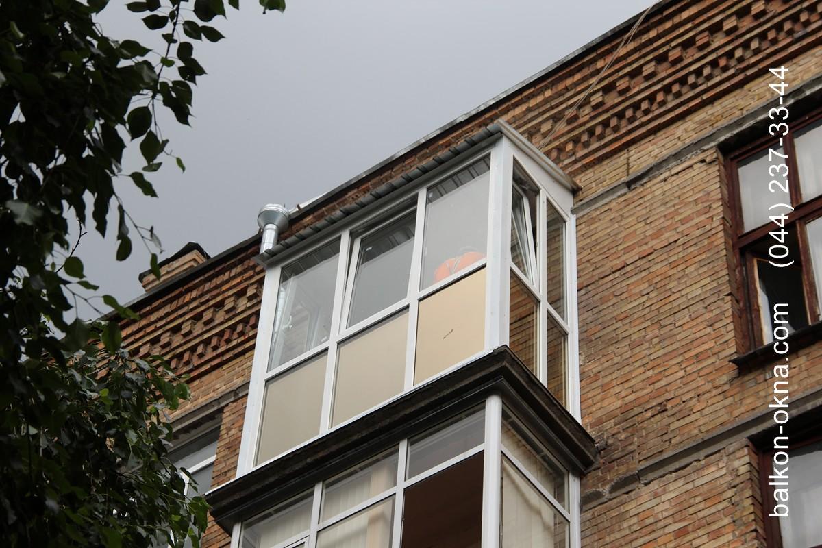 Балконы под ключ в Броварах